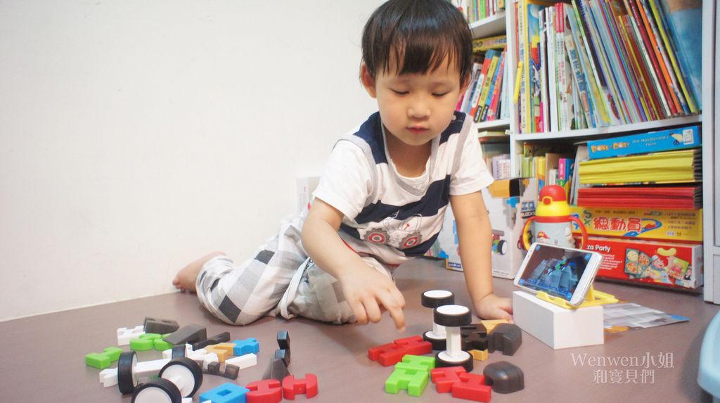 2018.04 STEAM玩具 頂尖建構積木系列 霹靂車 (16).JPG