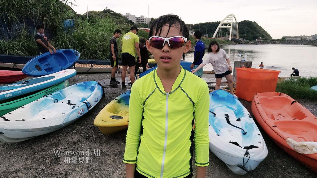 2018.07.05 基隆親子遊 海洋大學小艇碼頭獨木舟 SUP立槳浪板體驗 .JPG