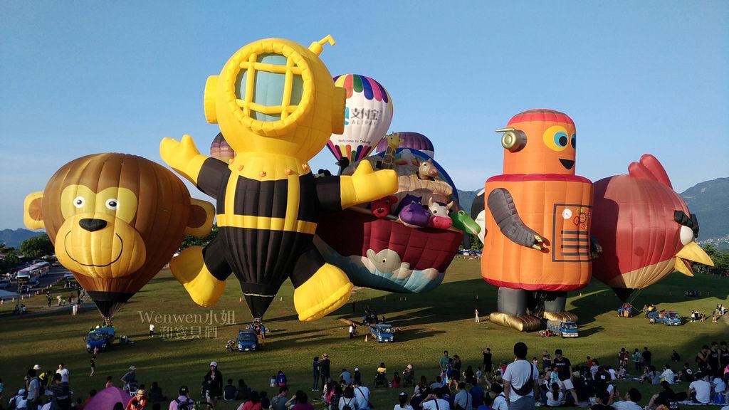 2018.07.28-30 台東親子遊~ 台灣國際熱氣球嘉年華 鹿野高台熱氣球