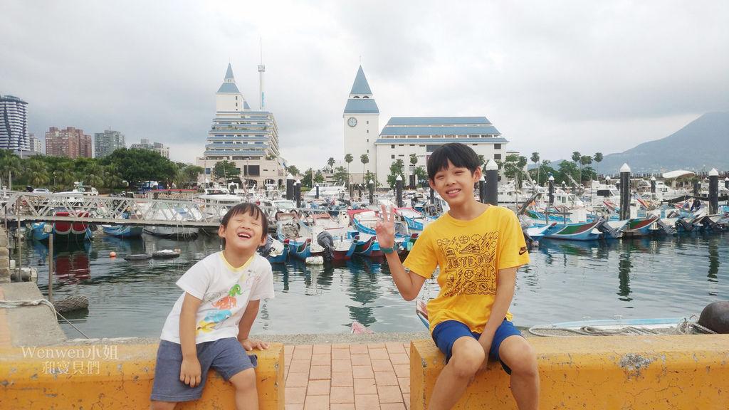 2018.08.19 淡水漁人碼頭 福容飯店 滑水道 水陸樂園 (2).jpg
