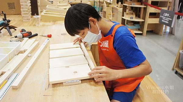 2018.08.29 特力屋手創空間 親子木作diy 木工體驗