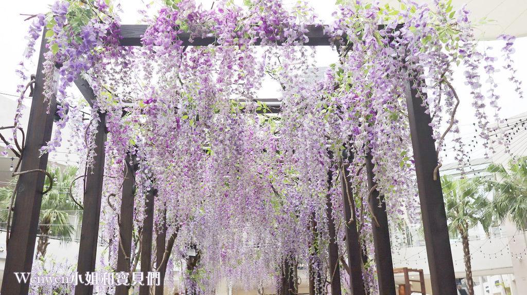 2020.04.05 林口三井outlet mall 紫藤花造景 (2).JPG