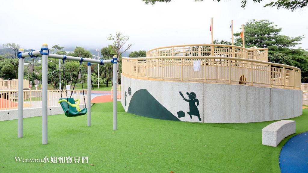 天母運動公園兒童遊戲場 天母夢想親子樂園 棒球溜滑梯台北特色公園