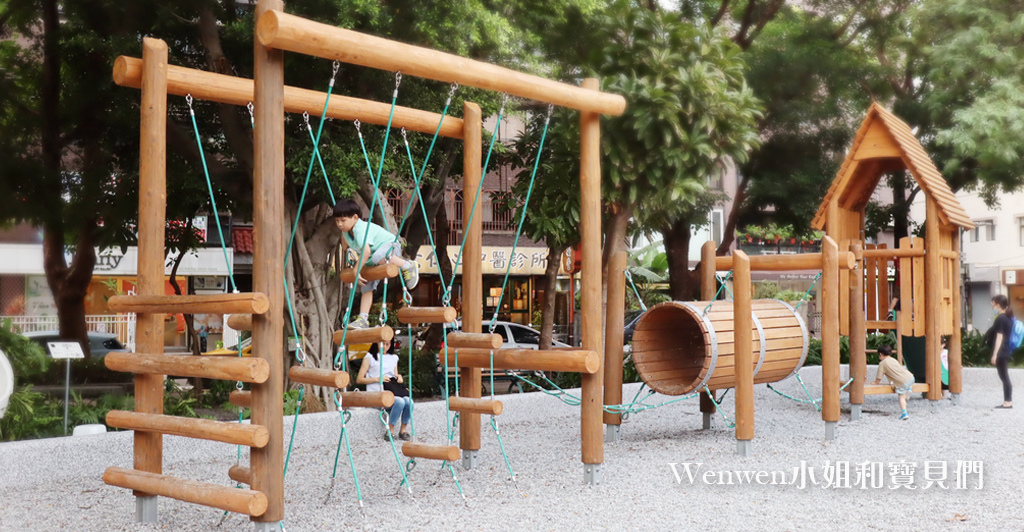 2020 台北特色遊戲場 天母親子景點蘭雅一號公園叢林野訓遊戲場.jpg