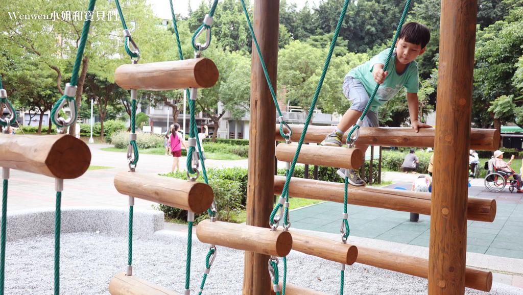 2020 台北特色遊戲場 天母親子景點蘭雅一號公園叢林野訓遊戲場 (3).JPG
