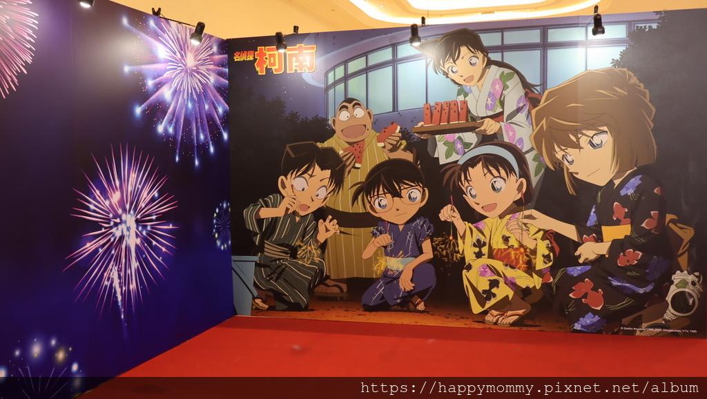 2020台北免費展覽 新光三越台北南西店 名偵探柯南 夏日花火祭 (9).JPG