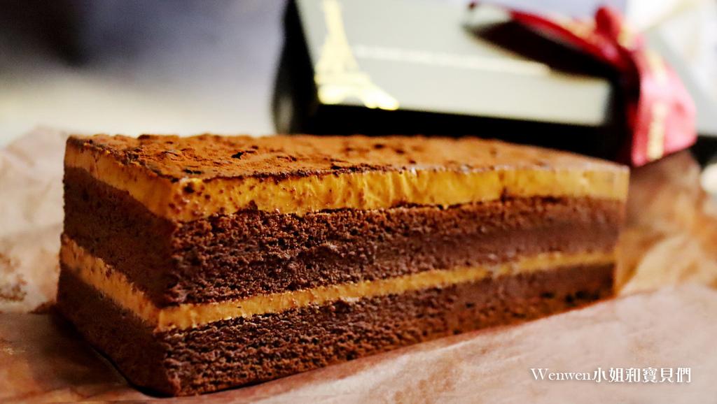 2020彌月試吃  法國的秘密甜點 鹽之花焦糖巧克力蛋糕 (4).JPG