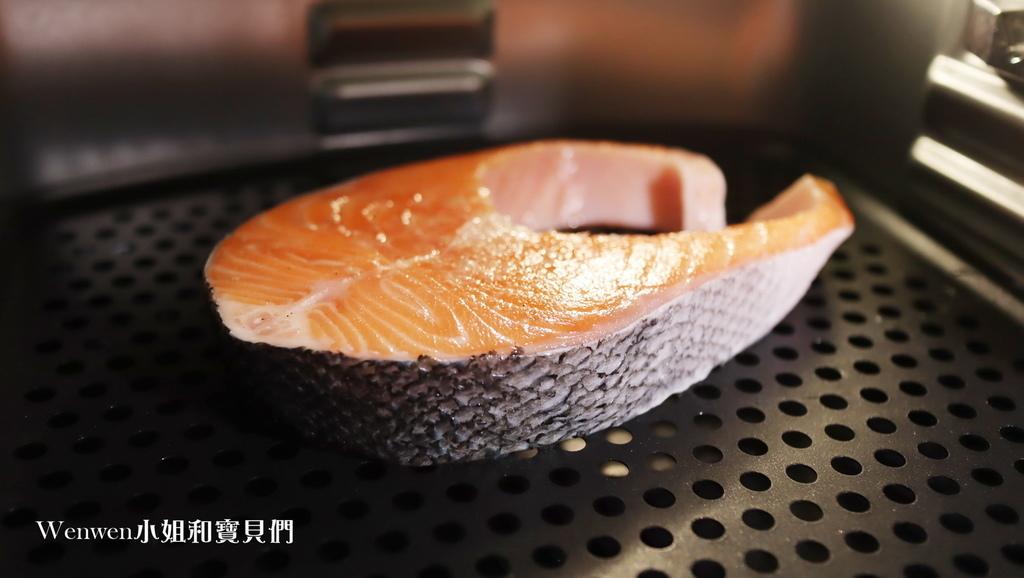 2020料理神器 鍋寶智慧多功能氣炸烤箱 氣炸鮭魚片