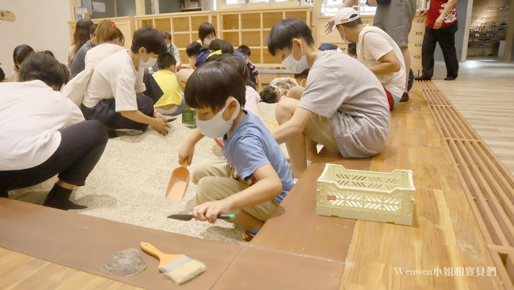 2020宜蘭親子景點 蘭陽博物館兒童考古體驗    KIDS  考古 (6).JPG