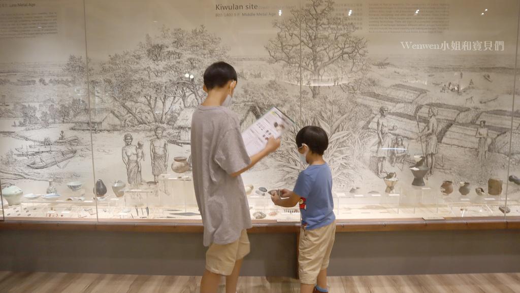 2020宜蘭親子景點 蘭陽博物館兒童考古體驗    KIDS  考古 (8).JPG