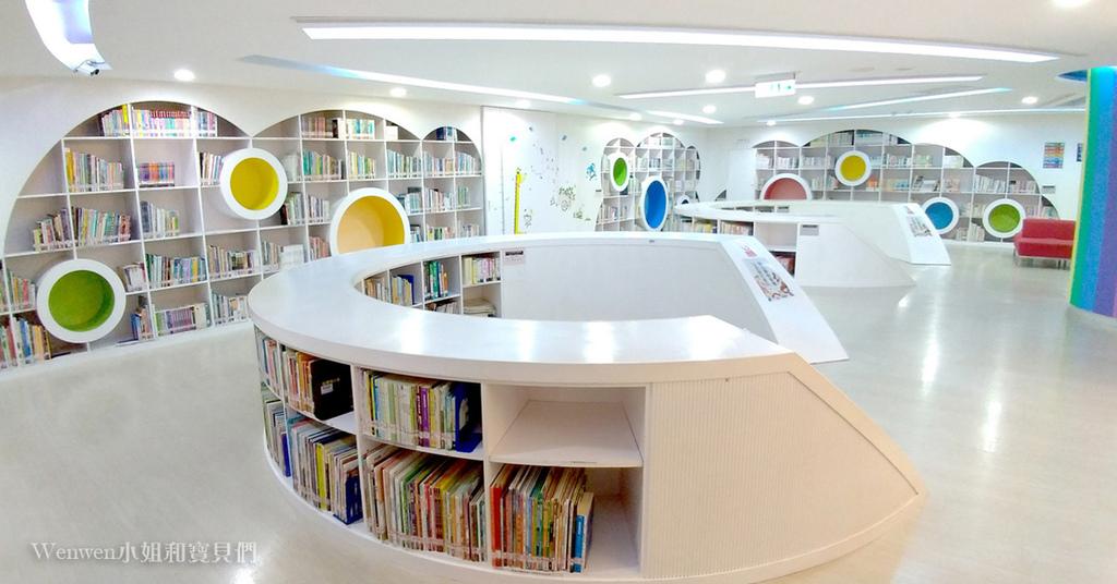 2021新店親子景點 新北市青少年圖書館兒童書庫親子共讀區 (3).jpg