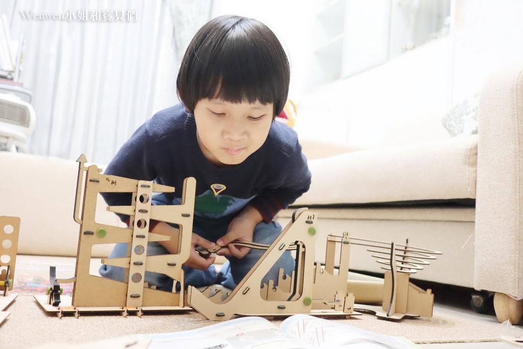 2021小學生玩具推薦 STEM玩具 印度Smartivity骨牌效應 (11).JPG