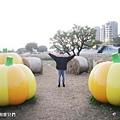 2021台北市美堤河濱公園大南瓜 稻草捲心酥 (1).jpg