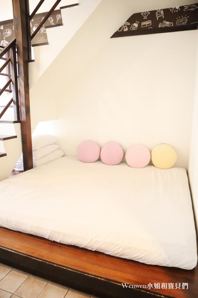 2021墾丁悠活渡假村 樓中樓家庭房 巧克力旅館房型 (2).JPG