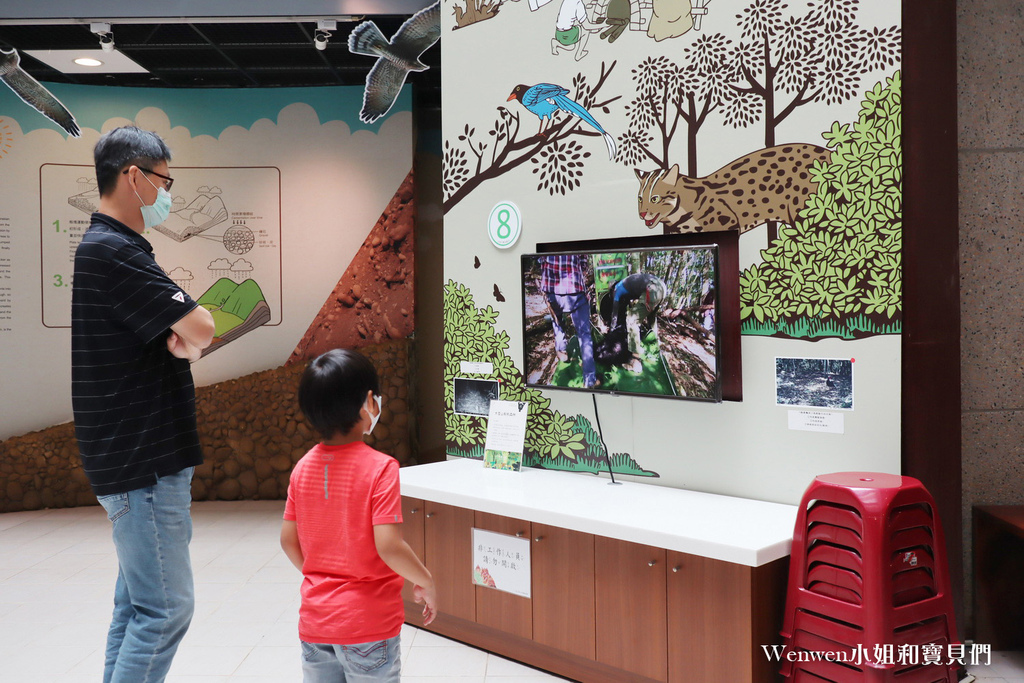 2021苗栗親子景點 火炎山生態教育館 3D彩繪階梯 AR體驗 闖關送禮物 (26).JPG