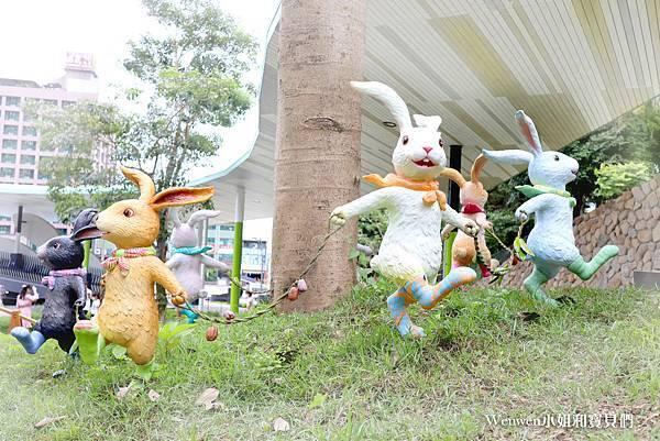 2021宜蘭新景點 礁溪幾米兔 礁溪轉運站 礁溪溫泉公園幾米兔 (13).JPG