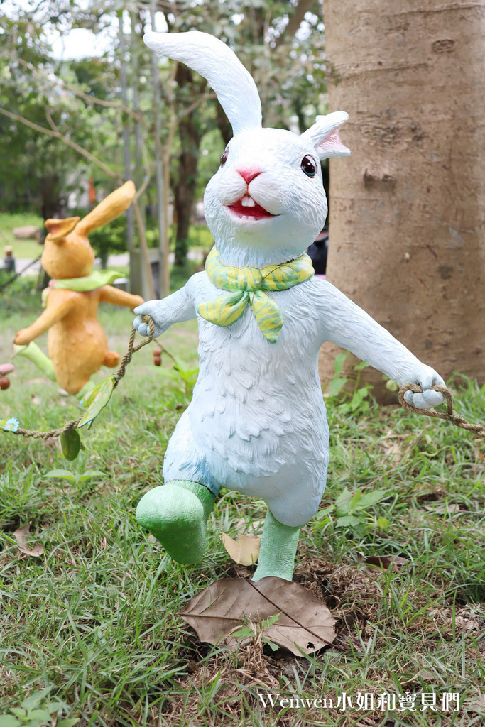 2021宜蘭新景點 礁溪幾米兔 礁溪轉運站 礁溪溫泉公園幾米兔 (17).JPG
