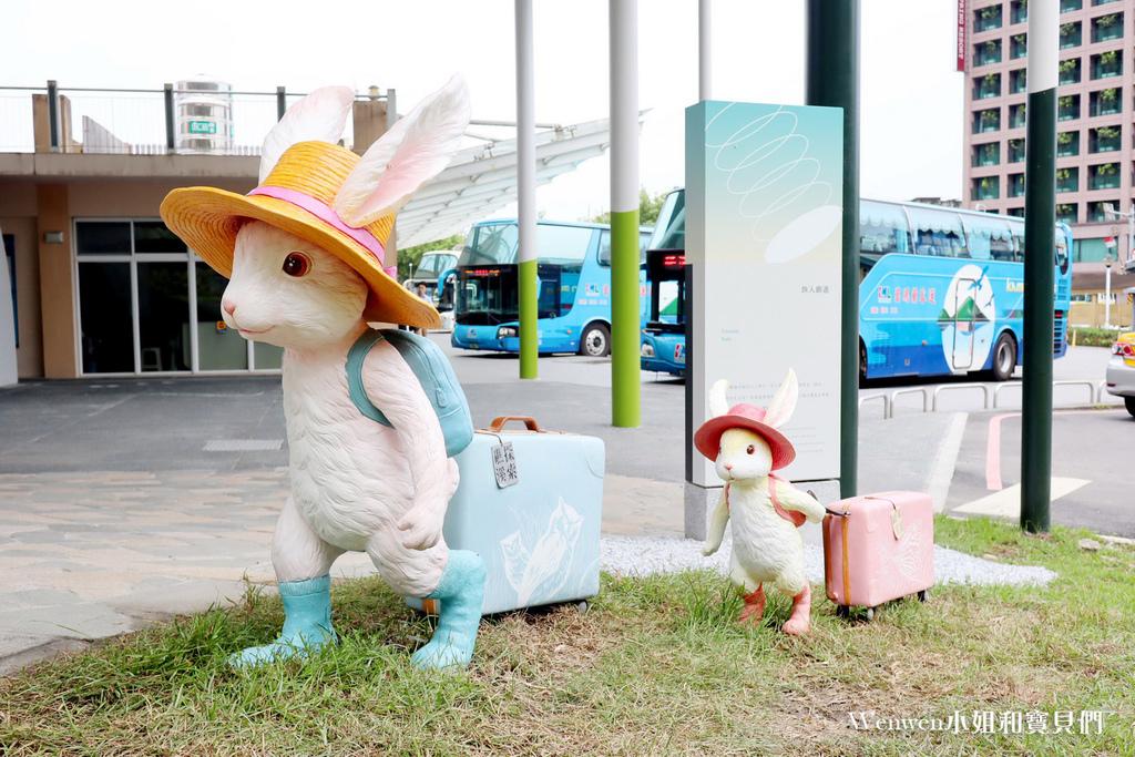 2021宜蘭新景點 礁溪幾米兔 礁溪轉運站 礁溪溫泉公園幾米兔 (4).JPG