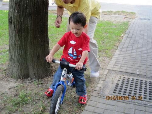 2010.08.28(1) pushbike試騎