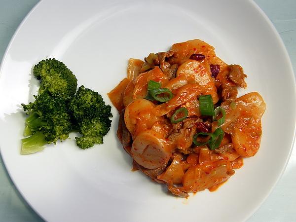 韓式泡菜牛肉炒年糕