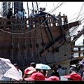 準備要登船了.....這時已經排了3個半小時了