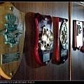軍官室牆上裝飾