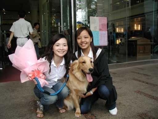 漂亮阿姨(左,muffin娘) and muffin