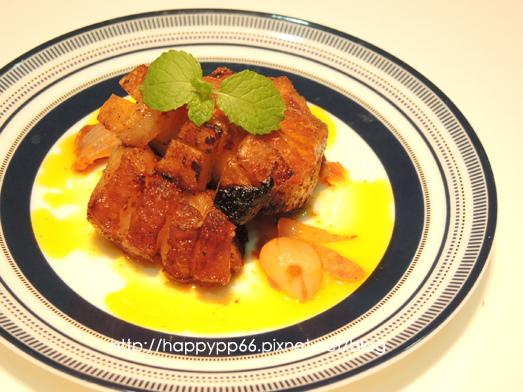 W6-1 葡萄牙霹靂辣味烤豬五花