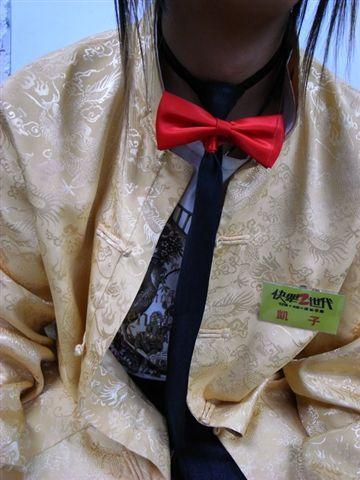 看過貓頭鷹打領帶嘛?