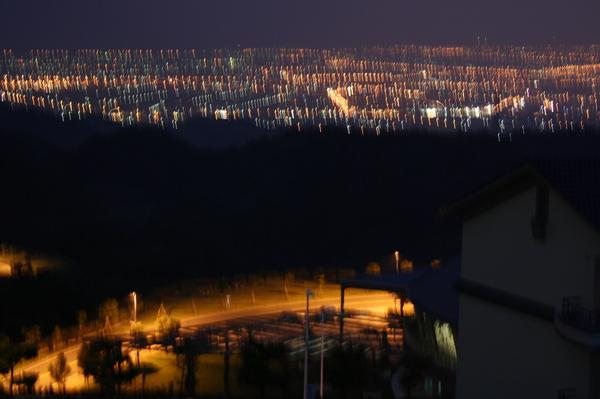夜景-佛光大學
