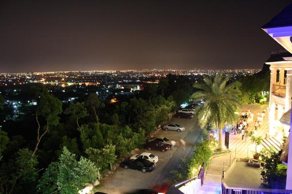 夜景-山頂會館