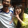 陳本松安平快樂跑的葉美女合照