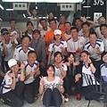 2013_04_21丫公店馬拉松完賽,在健康路茶樹慶功 ^^