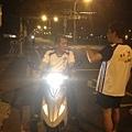 2013_04_2512.5km快樂起跑囉!— 與本日最佳補給員~建昌副團在台南安平四草大橋
