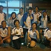 2013_06_04 相約在今晚12K,歡迎新團員(高國榮)加入安平快樂跑