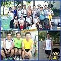 2013_08_18嗨!第二波快樂跑^_^ — 在漁光島二個圈圈