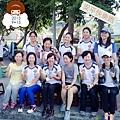 2013_09_15快樂跑迎新的團花喔(^ー^)