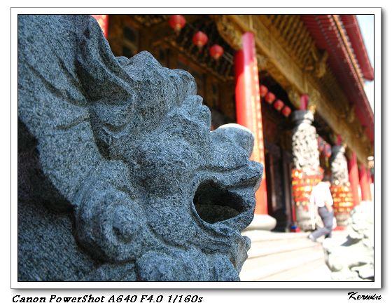 聖母廟-獅