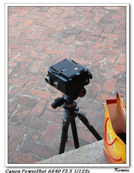 這相機很特別呢!