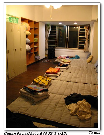 青年旅舍-房內
