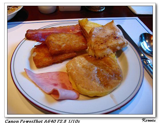 自助的早餐