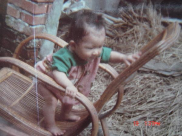 這張藤椅也是我的最愛啦