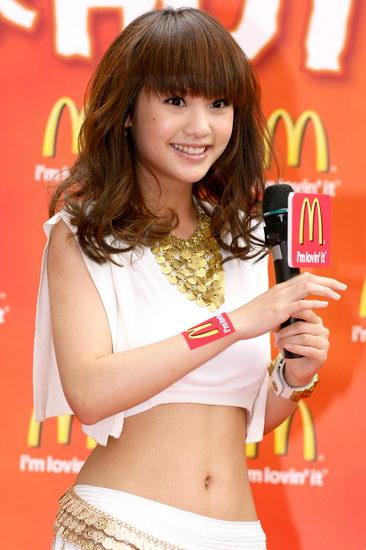 麥當勞-可愛教主楊丞琳代表