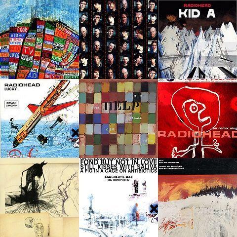 Radiohead collage 480x480