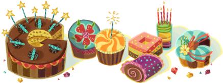 google生日蛋糕