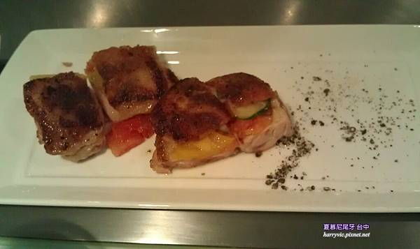 普羅旺斯雞排海鮮雙拼主餐