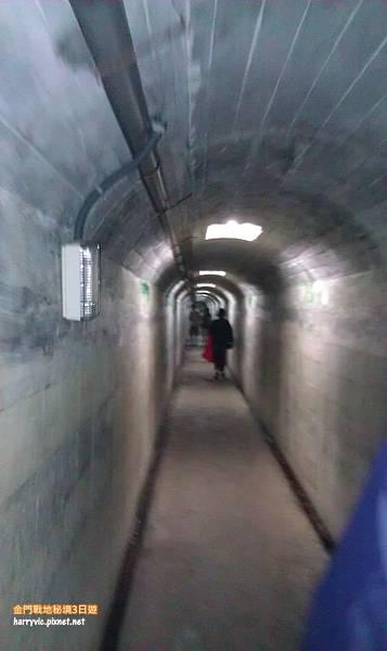 馬山觀測站內的坑道