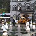 西洋棋庭院
