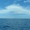前往綠島船上