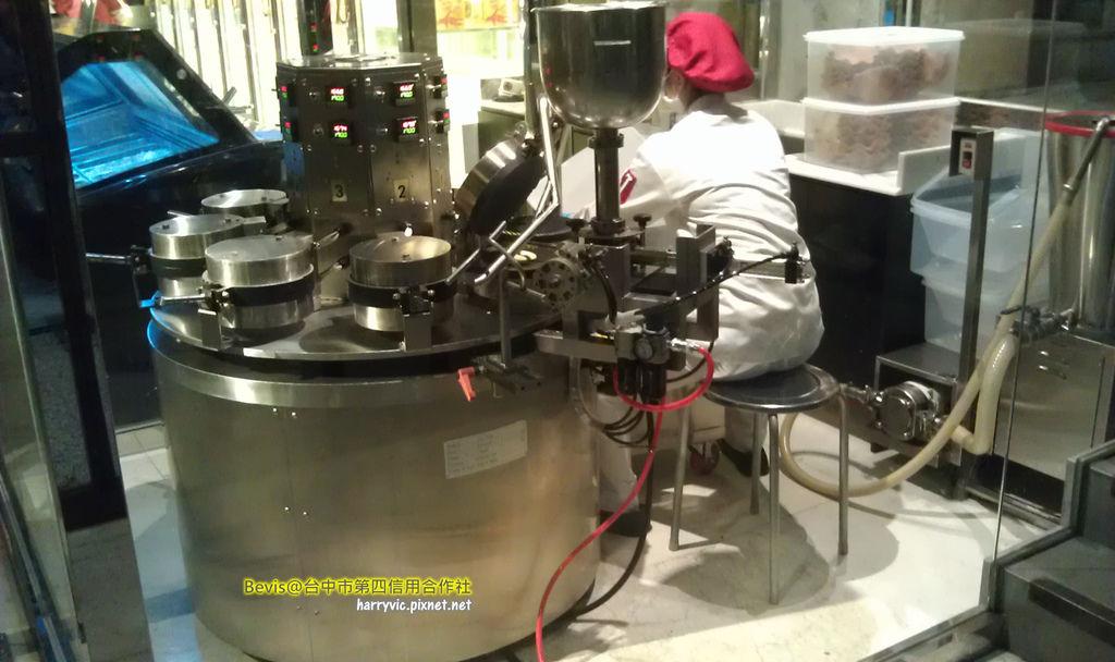 餅皮自動化設備